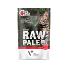 Masová kapsička Raw Paleo  Kitten – Hovězí s lososovým olejem