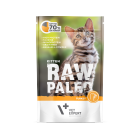 Masová kapsička Raw Paleo  Kitten -  Krůtí se slunečnicovým olejem 100g