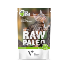 Masová kapsička Raw Paleo  Kitten -  Zvěřina s konopným olejem 100g