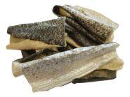 sušená kůže z lososa mala